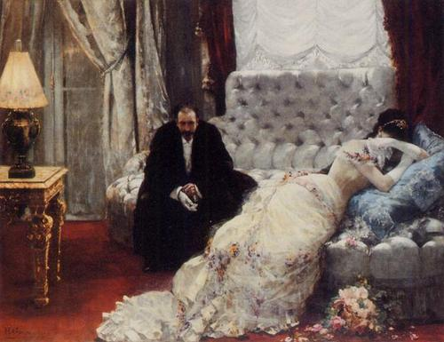 After the Ball by Henri Gervix