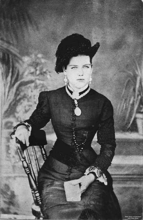 1884 Woman. How Beautiful.